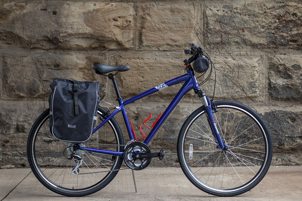 Great Allegheny Passage - GAP - C&O standard rental bikes - one way or round trip - Standard Hybrid Bicycle